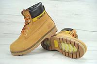 Зимние мужские ботинки Caterpillar с мехом
