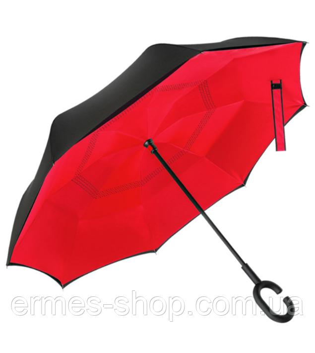 Зонт обратного сложения Up-brella | Ветрозащитный зонт