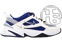 Женские кроссовки Nike M2K Tekno Sail Deep Royal Blue/Wolf Grey-White-Black AV4789-103
