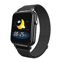 Умные часы UWatch Y6 pro с функцией пульсоксиметра, Black