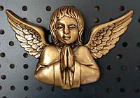 Ангел для надгробного памятника 13х9 см.