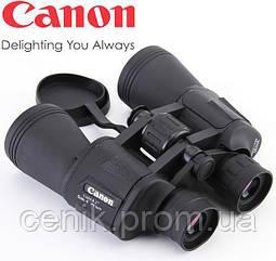 Бинокль Canon 20x50 водонепроницаемый  с чехлом