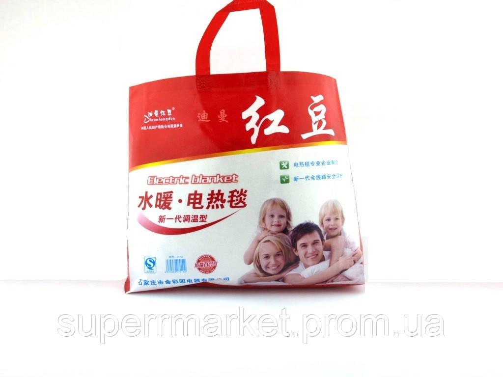 Электропростынь с сумкой Electric blanket 150*180   электроодеяло обогреватель, белая