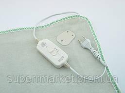Электропростынь с сумкой Electric blanket 150*180   электроодеяло обогреватель, белая, фото 2