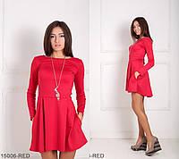 Удобное и стильное асимметричное платье с карманами Alay