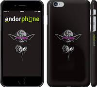 """Чехол на iPhone 6 Plus Йода-меломан """"273c-48"""""""