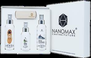 Набор нанокосметики SET NANOMAX 4 для обуви из замши, нубука и текстиля