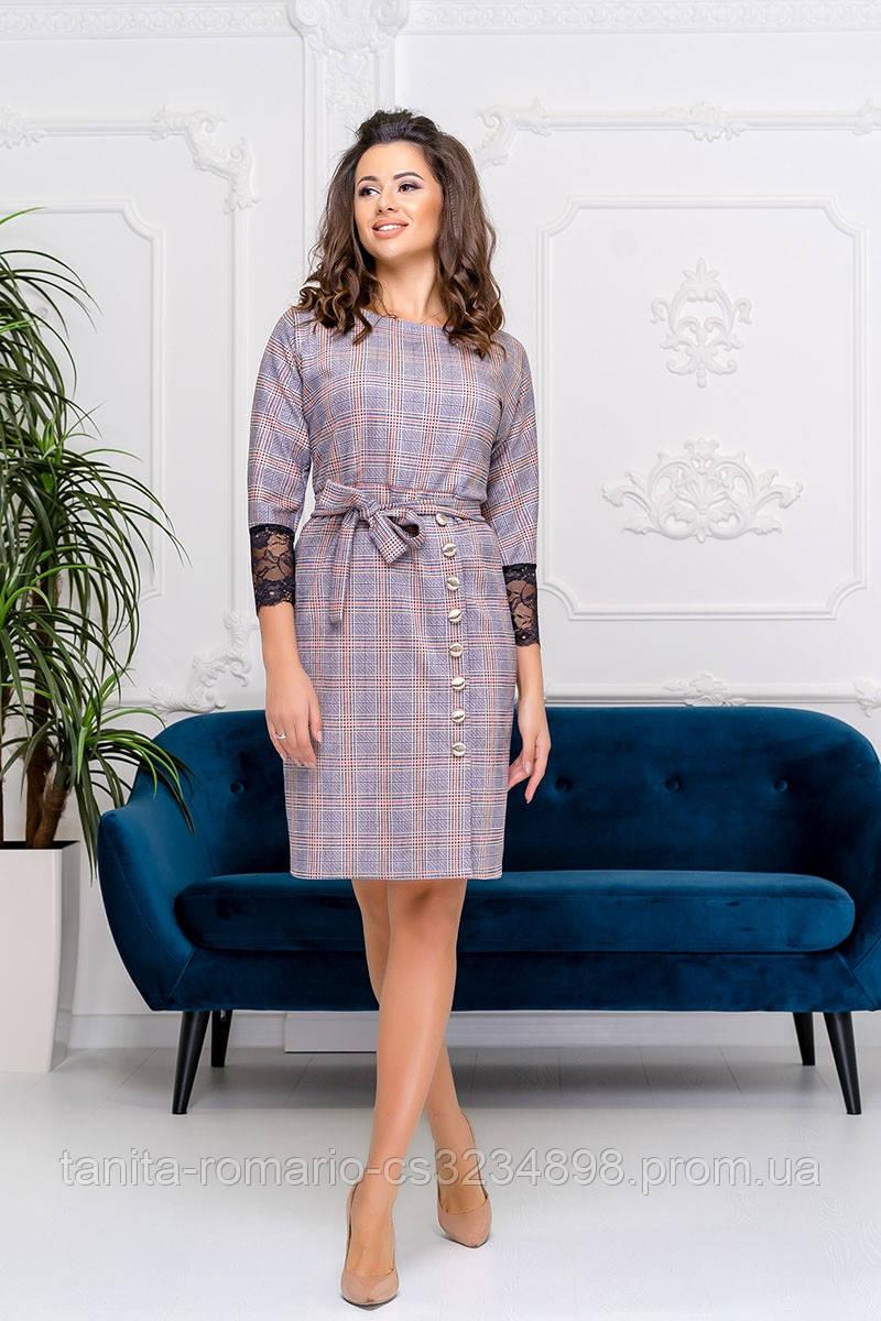Повседневное платье Электрик 9173e S M L