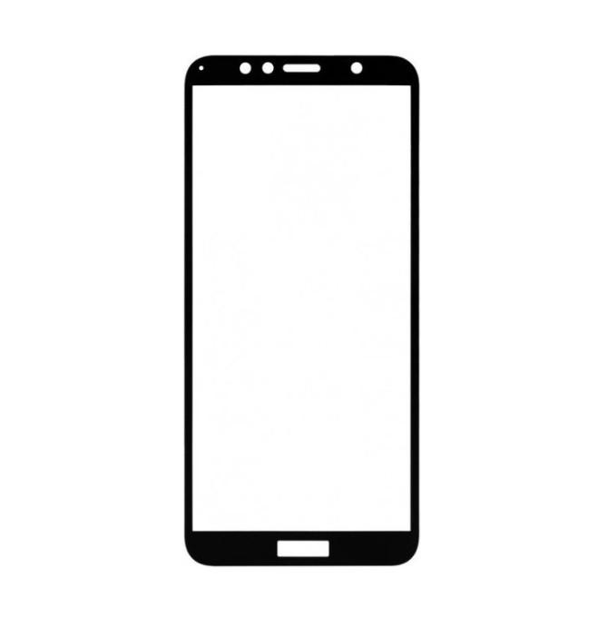 Захисне скло для Huawei Y6 2018 Full Glue Чорне