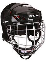 Шлем CCM50 с решеткой, Размер S, черный, CCM50-B-S