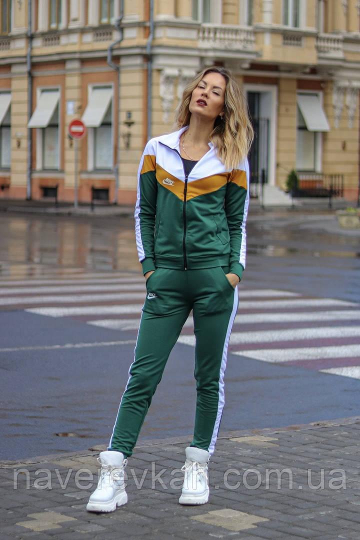 Женский осенний спортивный костюм на молнии бутылка сирень 42-44 44-46