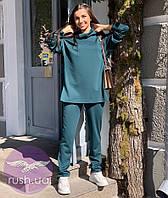 Женский костюм брючный свободного кроя, фото 1