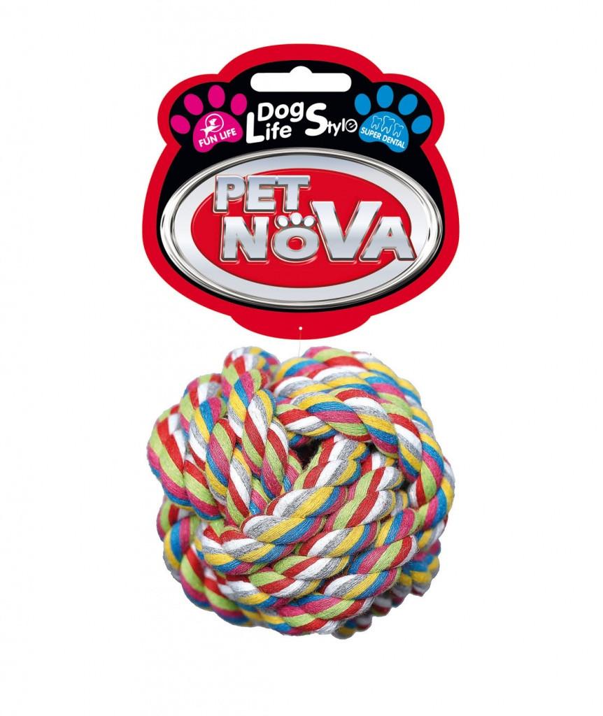 Шар из хлопковой нити Pet Nova 9 см