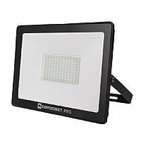 LED Прожектор Евросвет 100W 6400K IP65 9000Lm PRO