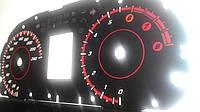 Шкалы приборов Mitsibishi Lancer X, фото 1