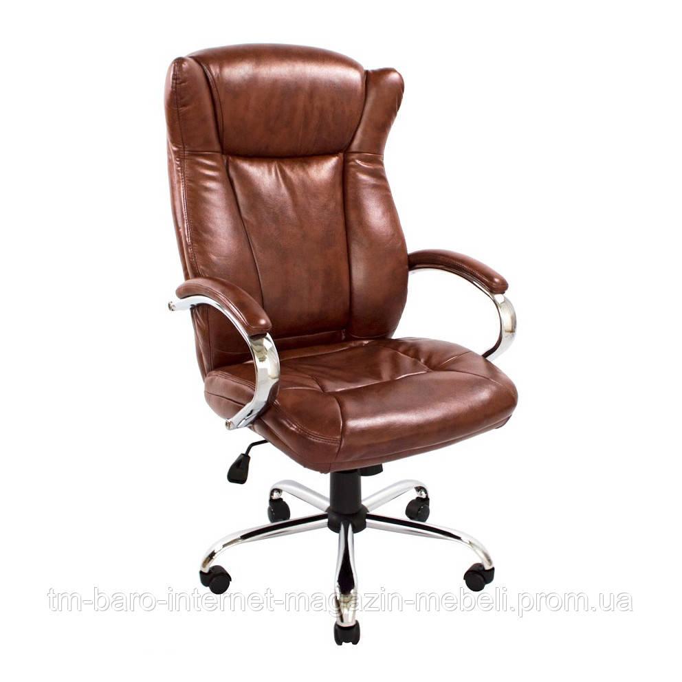 Кресло Сенатор Хром коричневый, Richman