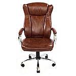 Кресло Сенатор Хром коричневый, Richman, фото 2