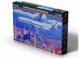 Se-210 United Airlines. 1/72 MISTER CRAFT D-27