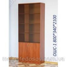 Офисный шкаф-витрина ОШС-1 (Континент) 800х340х2100мм