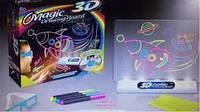 SALE! Набор 3D рисование с очками Magic 3D с маркерами РАКЕТА