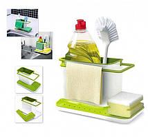Органайзер для кухонной раковины Caddy Sink Tidy Joseph 3 в 1 (3in1 Daily USE)