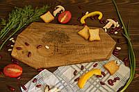 """Персонализированная доска с гравировкой на кухню """"Грани"""", Досточка деревянная кухонная для нарезки фруктов"""