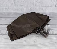 Суперлегкий качественный зонт автомат Sponsa 1839-6 кофе, с системой антиветер, фото 1