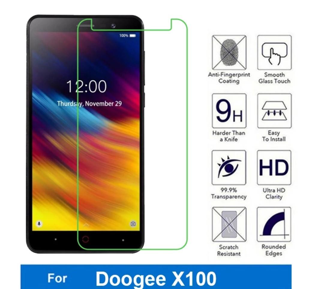 Закалене скло для Doogee X100