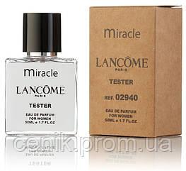Туалетная вода женская Lancome Miracle 50 ml, Orign Tester, эко упаковка