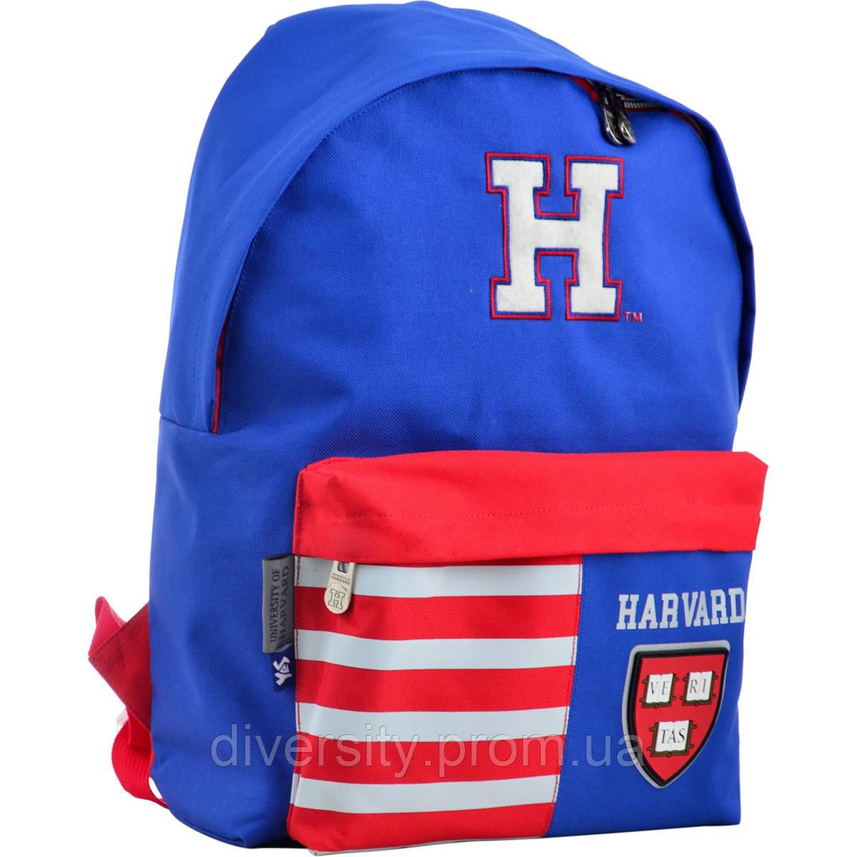 Молодежный рюкзак YES  SP-15 Harvard blue, 41*30*11