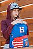 Молодежный рюкзак YES  SP-15 Harvard blue, 41*30*11                                       , фото 5