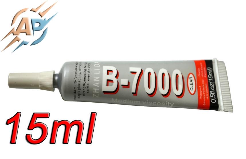Клей герметик B-7000 (Zhanlida) для монтажа дисплеев 15мл.
