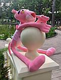 Мягкая игрушка Розовая Пантера Подарок на Новый год день Святого Николая ребёнку девочке детям, фото 4