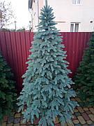 Премиум голубая 1.5м литая елка искусственная ель литая