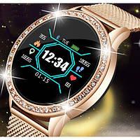 UWatch Умные часы Smart M8 Girl Gold, фото 1