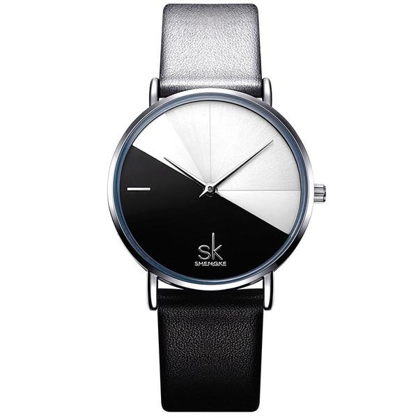 Shengke Женские часы Shengke Duos Black
