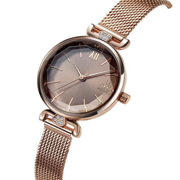 Shengke Женские часы Shengke Extra Gold