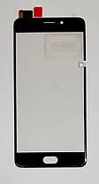 Сенсор (тачскрин) для Meizu M6 NOTE (M721) черный, фото 2