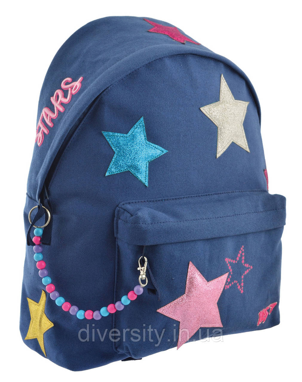"Молодежный рюкзак YES  ST-32 Glitter ""Stars"""