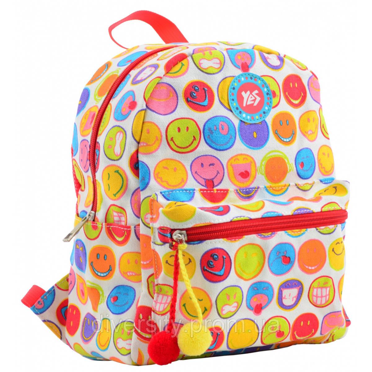 Молодежный рюкзак YES  ST-32 Smile, 28*22*12
