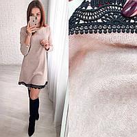 Женское модное платье  ХЗ322 (норма / бат), фото 1
