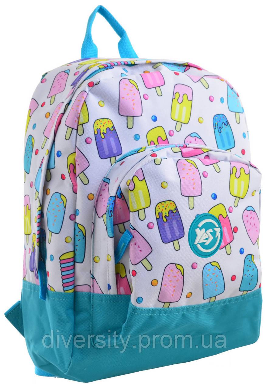 """Молодежный рюкзак YES  ST-40 """"Ice Cream"""""""