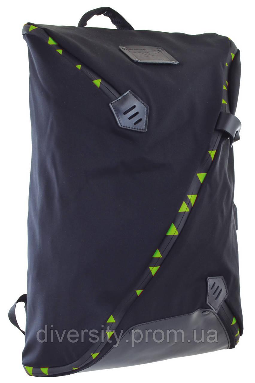 """Городской рюкзак YES  GP-01 """"Green x-factor"""""""
