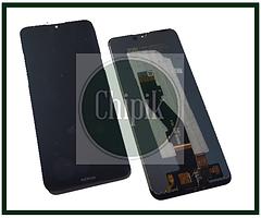 Дисплей для Nokia 3.2 с сенсорным экраном, черный