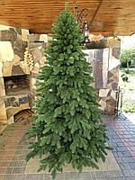 Лита ялинка Елітна 2.30м. Зелена | Искусственная литая елка