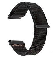 Нейлоновый ремешок Primo для часов Garmin Vivoactive 3 / Vivomove HR / Forerunner 245/645 - Black, фото 1