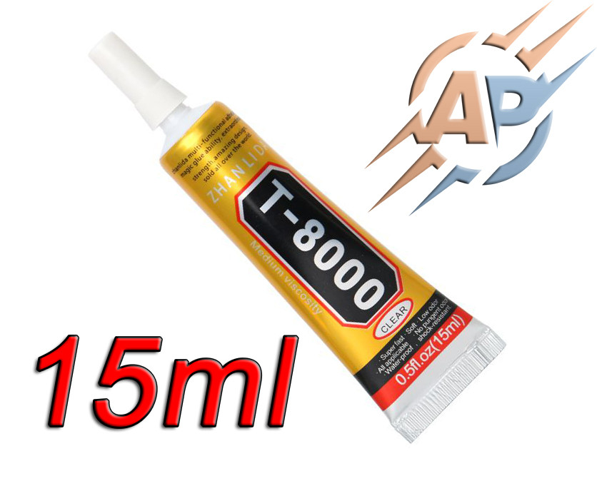 Клей герметик T-8000 (Zhanlida) для монтажа дисплеев 15мл.