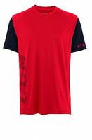 Футболка CCM Tech Tee Red/Black SR взрослая, Размер S, TTee-RED/BLK-SR-S