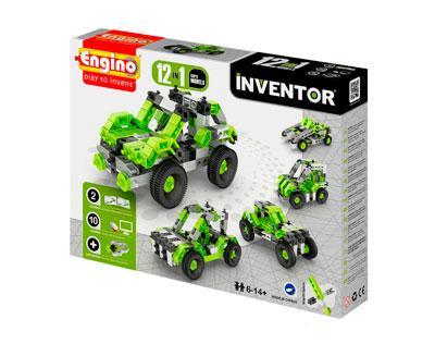 Конструктор INVENTOR 12 в 1 - Автомобили