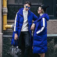 Яркая зимняя куртка подростковая унисекс. Подростковая рост 130-158см. Цвет на выбор